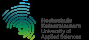 Logo der Hochschule Kaiserslauter, welches eine ähnlichkeit mit einem Fingerabdruck hat