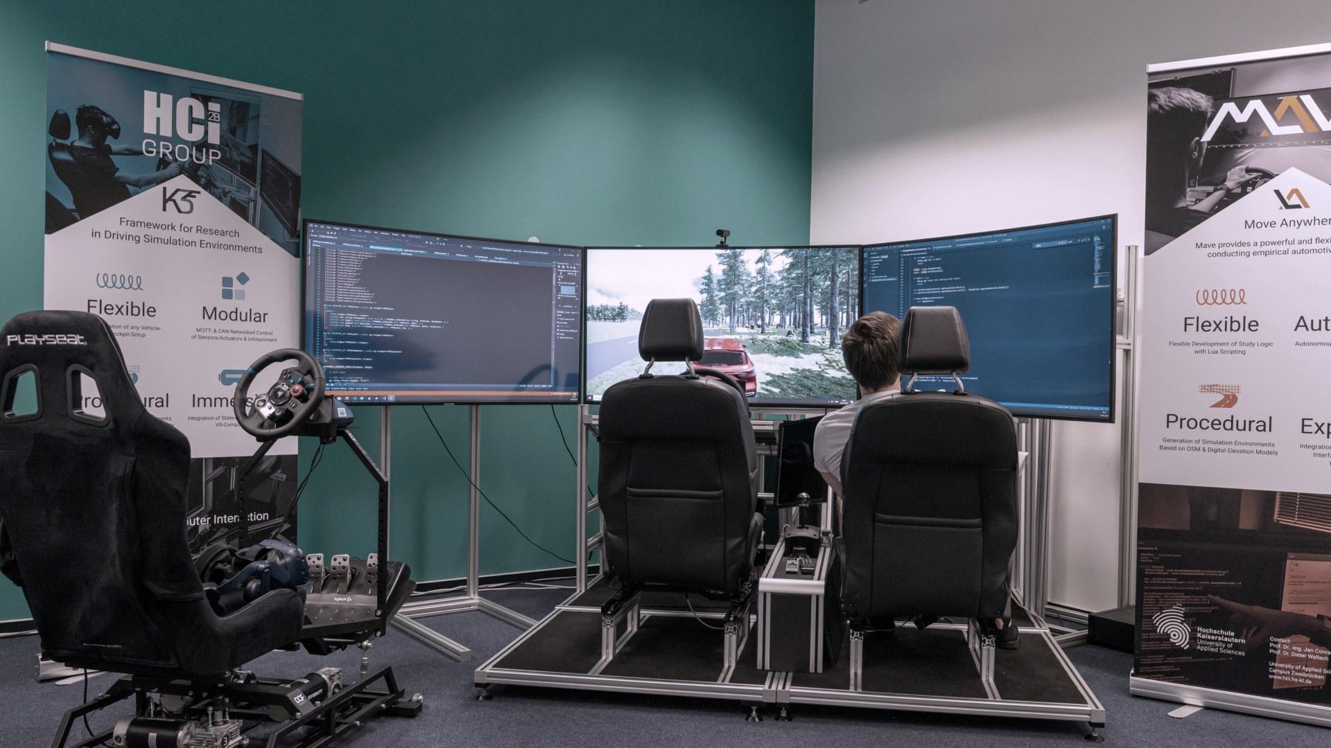 Prototyping, beispielsweise in Form von Fahrsimulationen, unterstützt die zielgerichtete Überprüfung neuer Produktkonzepte