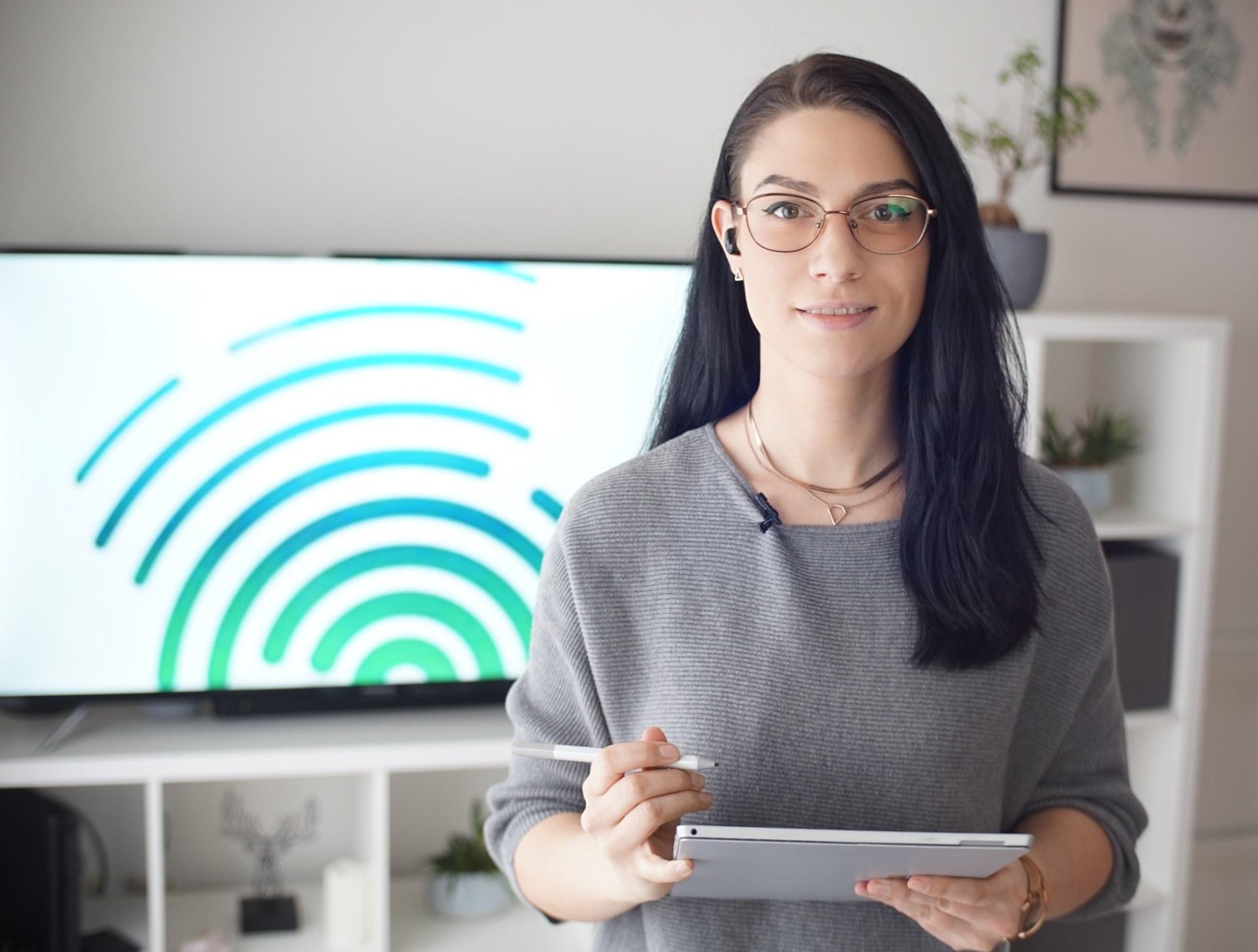 Janina Müller, M.Sc., (Hochschule Kaiserslautern) ist Ansprechpartnerin für das Atelier de Transfert